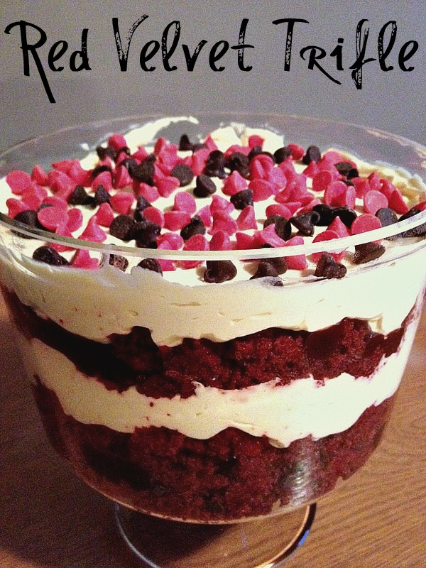 Red Velvet Cake Trifle Recipe — Dishmaps