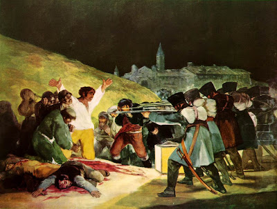 Francisco Goya, The Shootings of May Third 1808, 1814