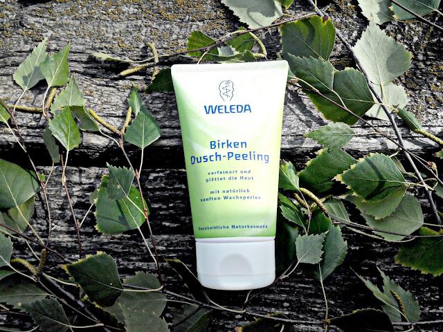 Weleda Birken Dusch-Peeling Березовый гель-пилинг для душа