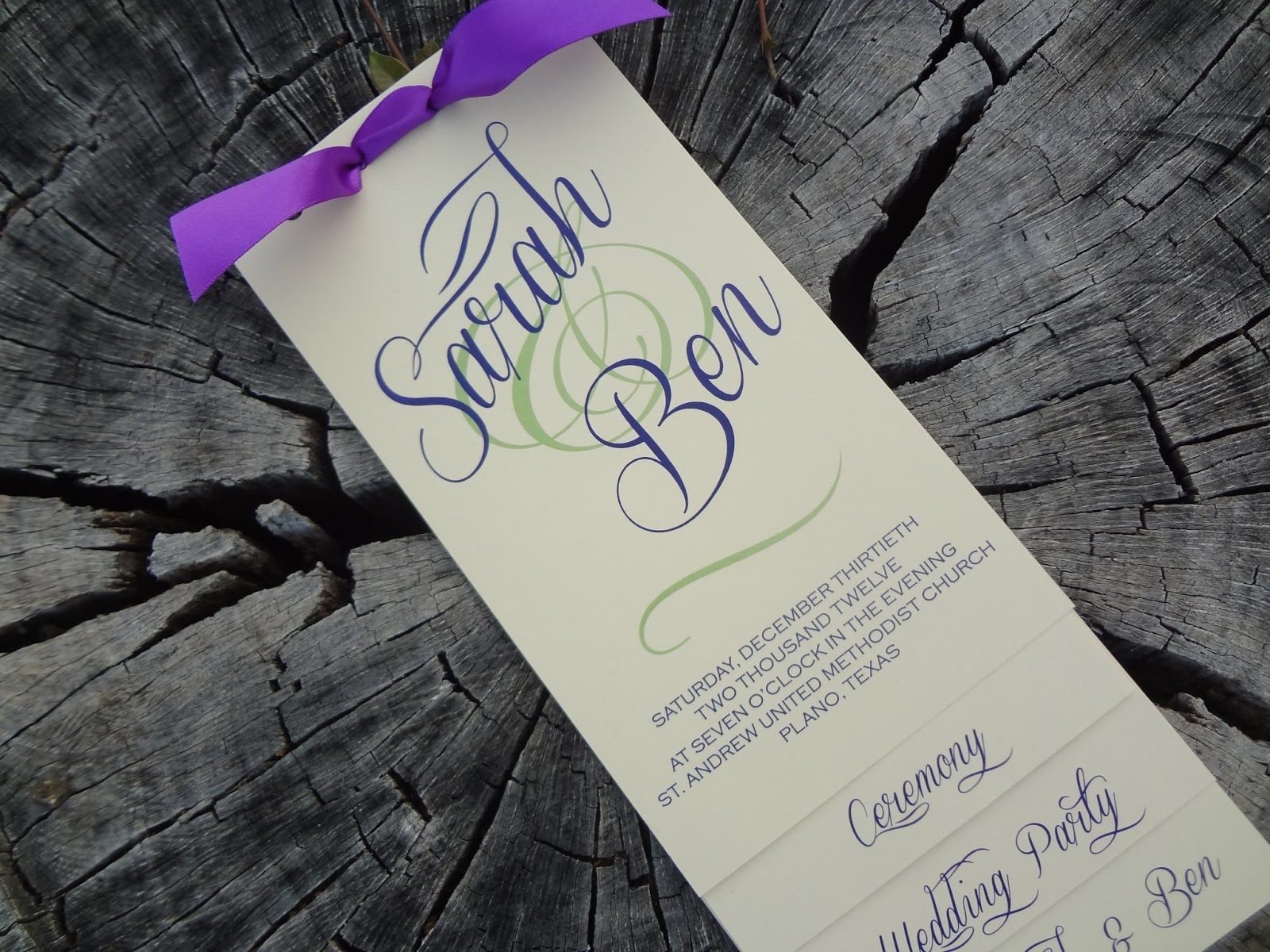 DIY Layered Wedding Program Tutorial Want Programs That Look GORGEOUS Like These