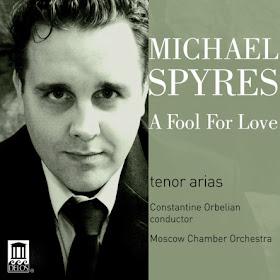 Michael Spyres, A Fool for Love - Delos, DE 3414