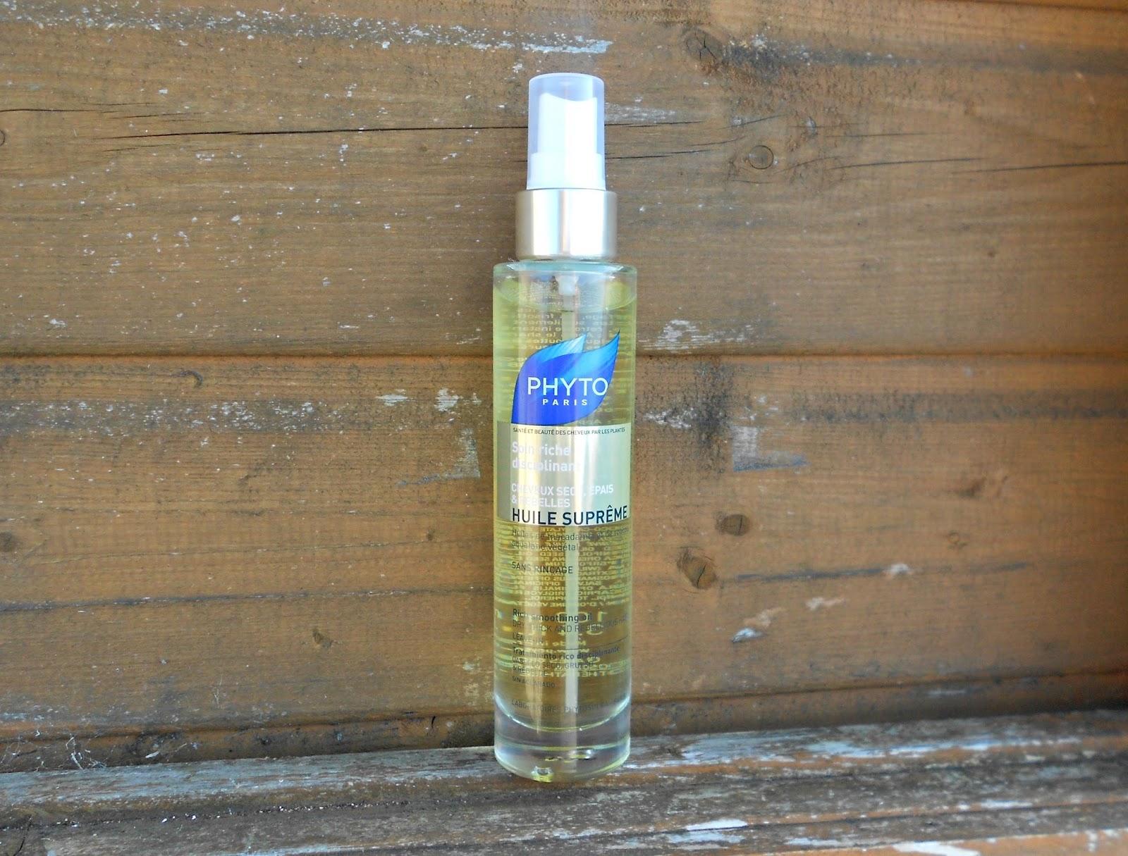 PHYTO HUILE SOYEUSE hair oil