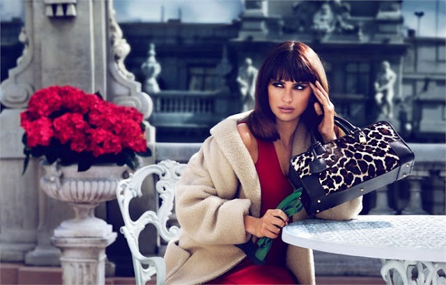 Penelope Cruz Loewe Campaign Fall Winter