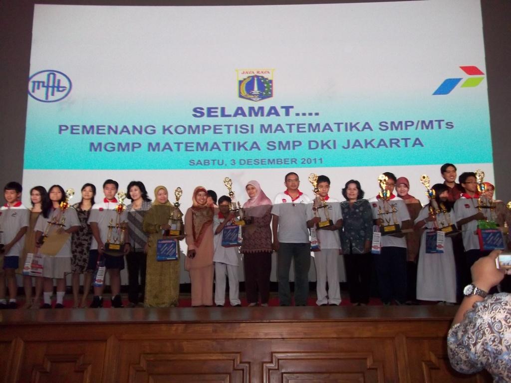 Pengumuman Babak Final Kompetisi Matematika Smp Ke 28