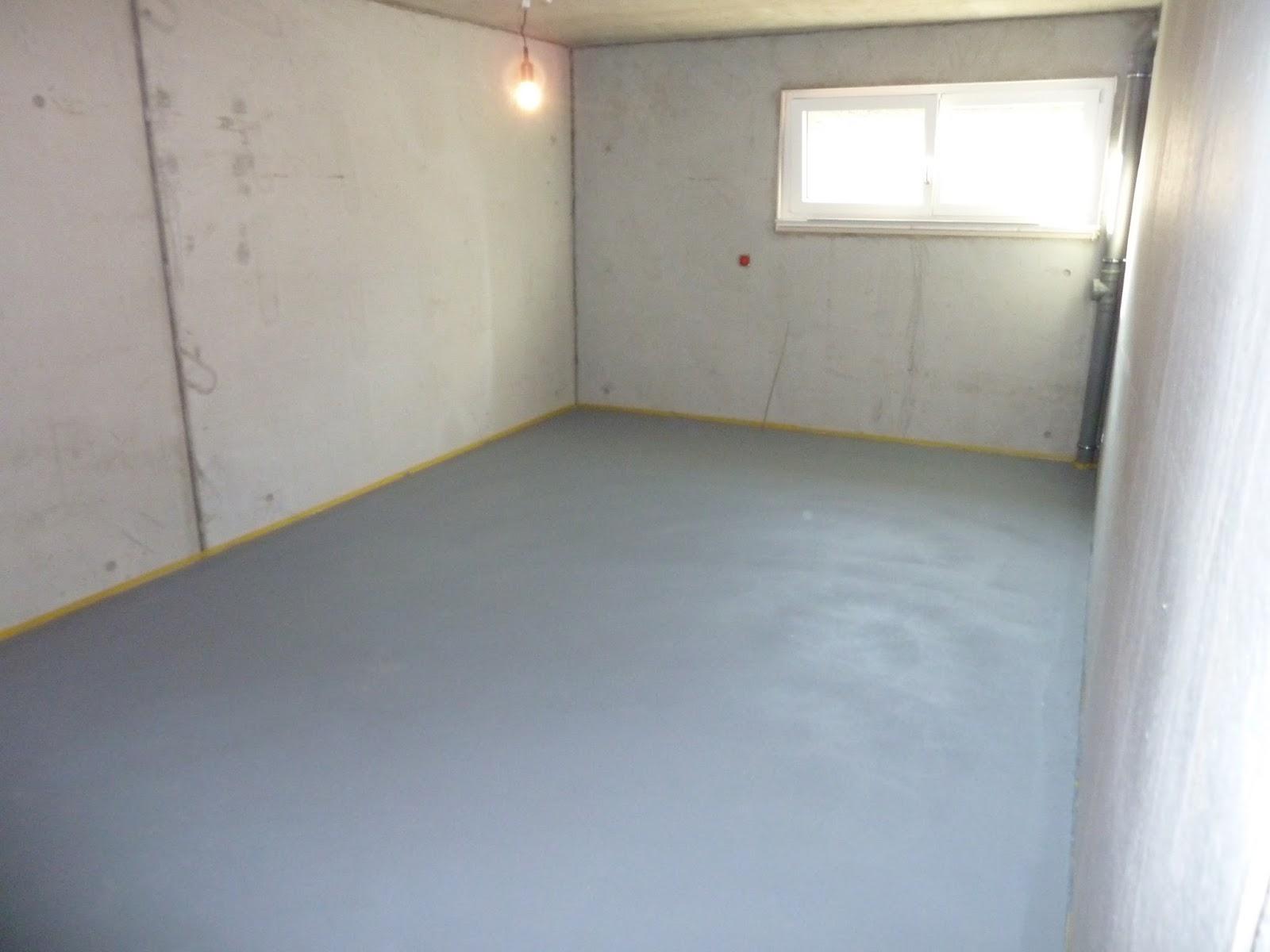 Mein Werk: Gemalter Boden In Jürgu0027s Werkraum