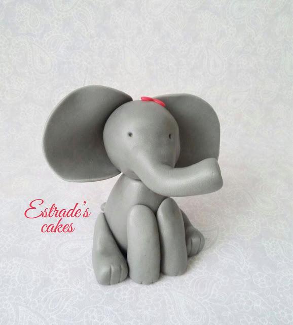 elefanta de fondant 1