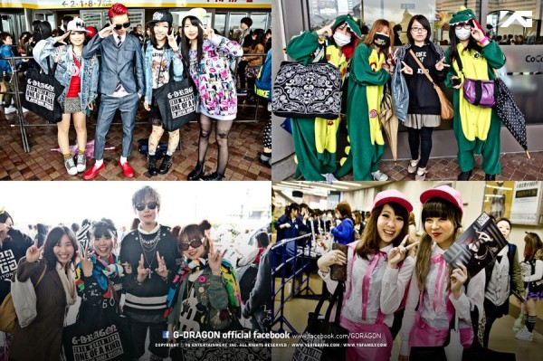 G-Dragon Konser One Of A Kind Di Jepang 10