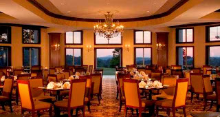 Have dinner at an elegant restaurant
