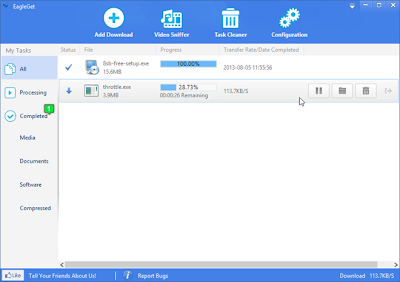 EagleGet Is An Elegant, Free Alternative To Internet Download Manager
