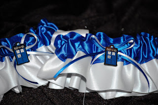 Doctor Who Garter - Uniquely Yours Bridal