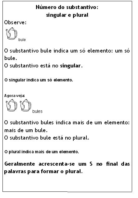Homework help with plural nouns