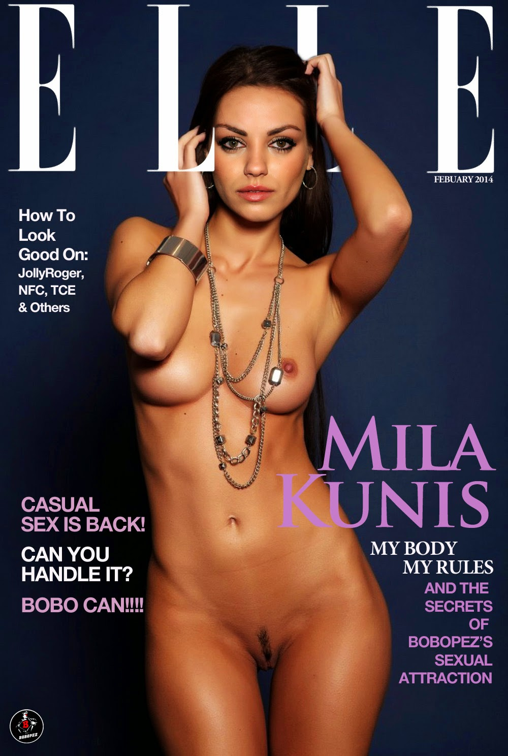 Mila kunis nude uncensored pics above told