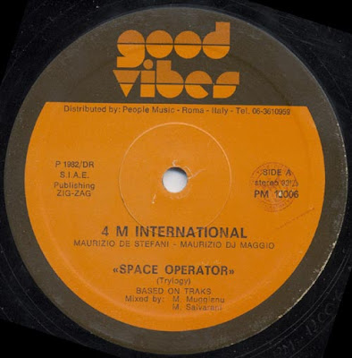 4 M International – Space Operator (1982, 12'', 256)