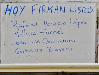 Feria del Libro en Villa de las Rosas, Traslasierra, Còrdoba, Argentina