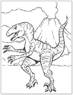 Desenhos Preto e Branco a era dos dinossauros Colorir