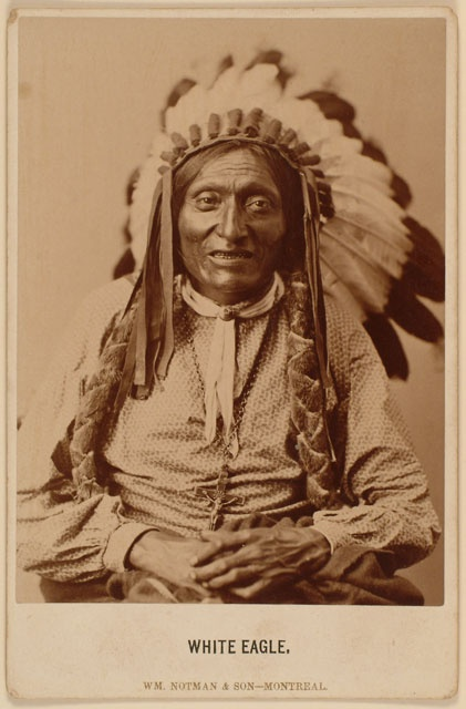 Chief White Eagle Wisdom from Ponca Chief White