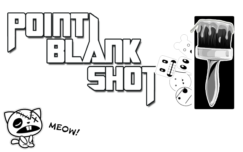 Point Blank Shot Artwork