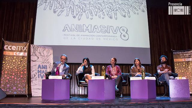 Octava edición de ANIMASIVO Festival de Animación Contemporánea de la Ciudad de México