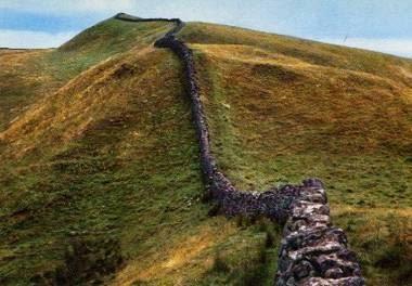 el muro de adriano - Juego de Tronos en los siete reinos