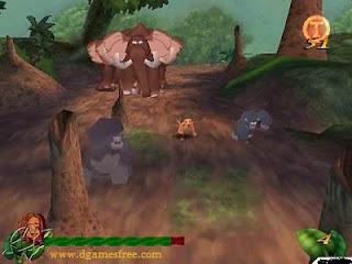 Download Tarzan Pc Game free Full Version
