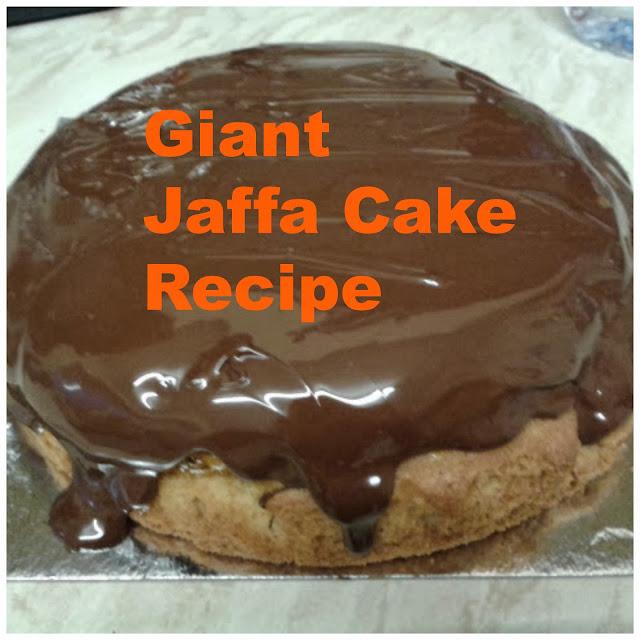 Giant Jaffa Cake Recipe Uk