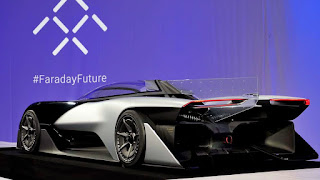 Faraday Future presenta un veicolo rivoluzionario