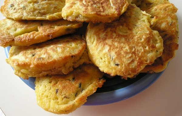 Wild rice pancakes - Easy Lunch Recipes Blog
