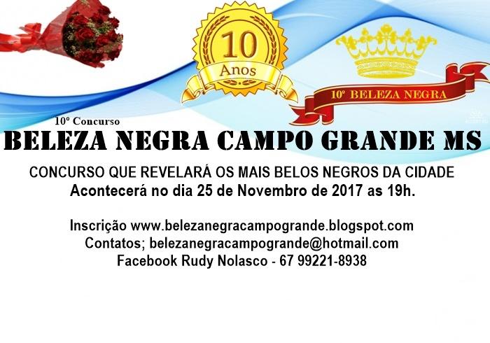 Concurso Beleza Negra Campo Grande MS