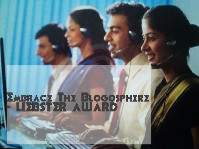 Liebster Award World's Showcase
