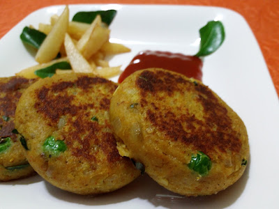 Soya Cutlets - Tea Time Snack Rich In Proteins, Vitamins And Minerals