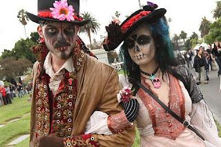 El Dia de los Muertos en México - que visitar