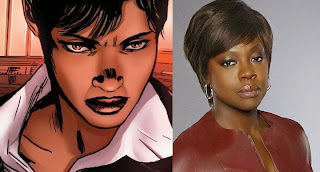 Viola Davis cast as Amanda Waller in Suicide Squad movie