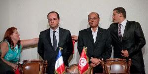 François Hollande orfèvre de la synthèse jusqu'à Tunis