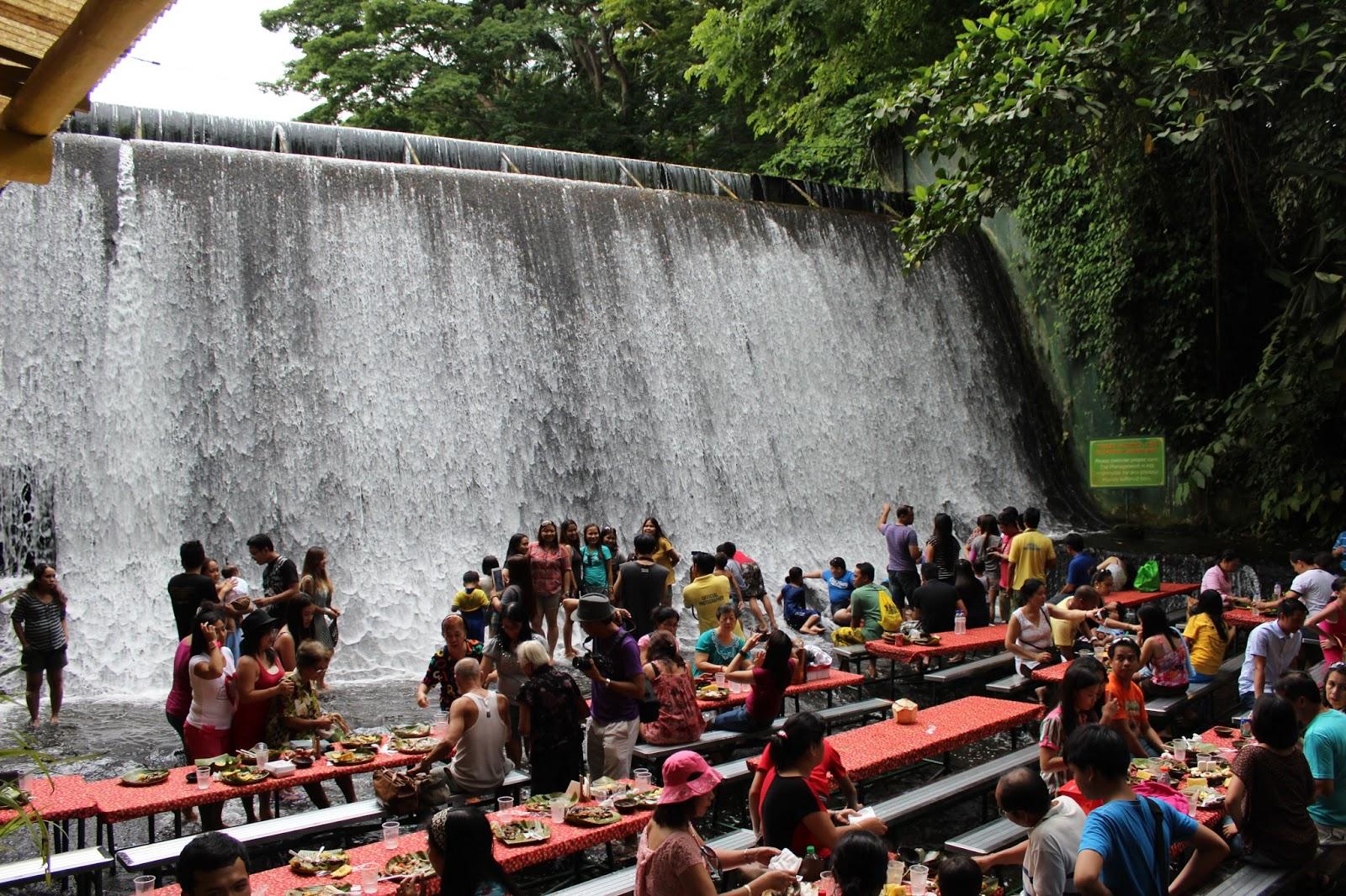 Villa Escudero Philippines 17  Villa Escudero Waterfalls Restaurant   48 Hours In Quezon