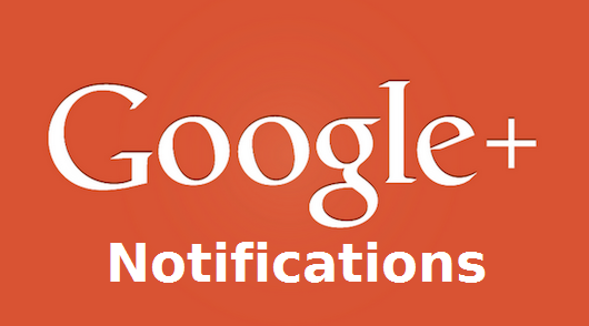 Les notifications Google+