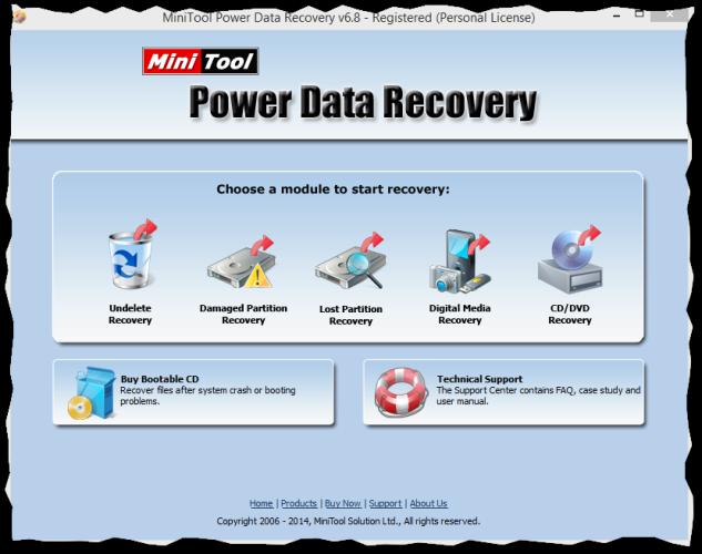 minitool power data recovery v6 8