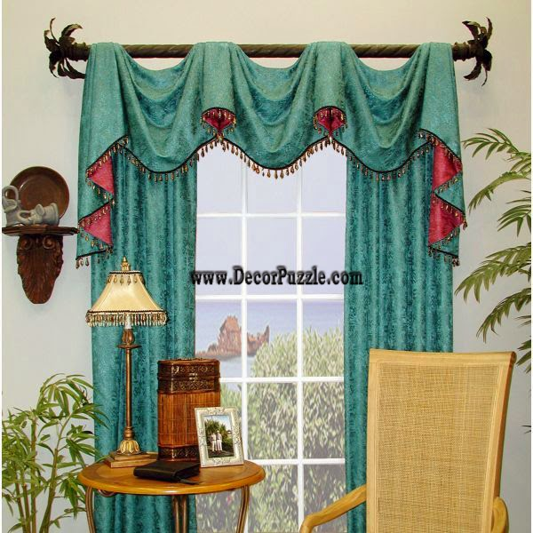 modern turquoise curtain styles 2015 and curtain designs