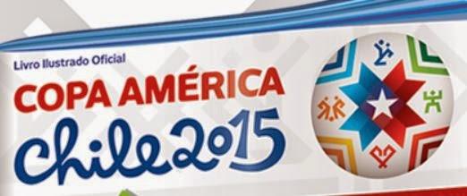 Figurinhas álbum Copa América 2015