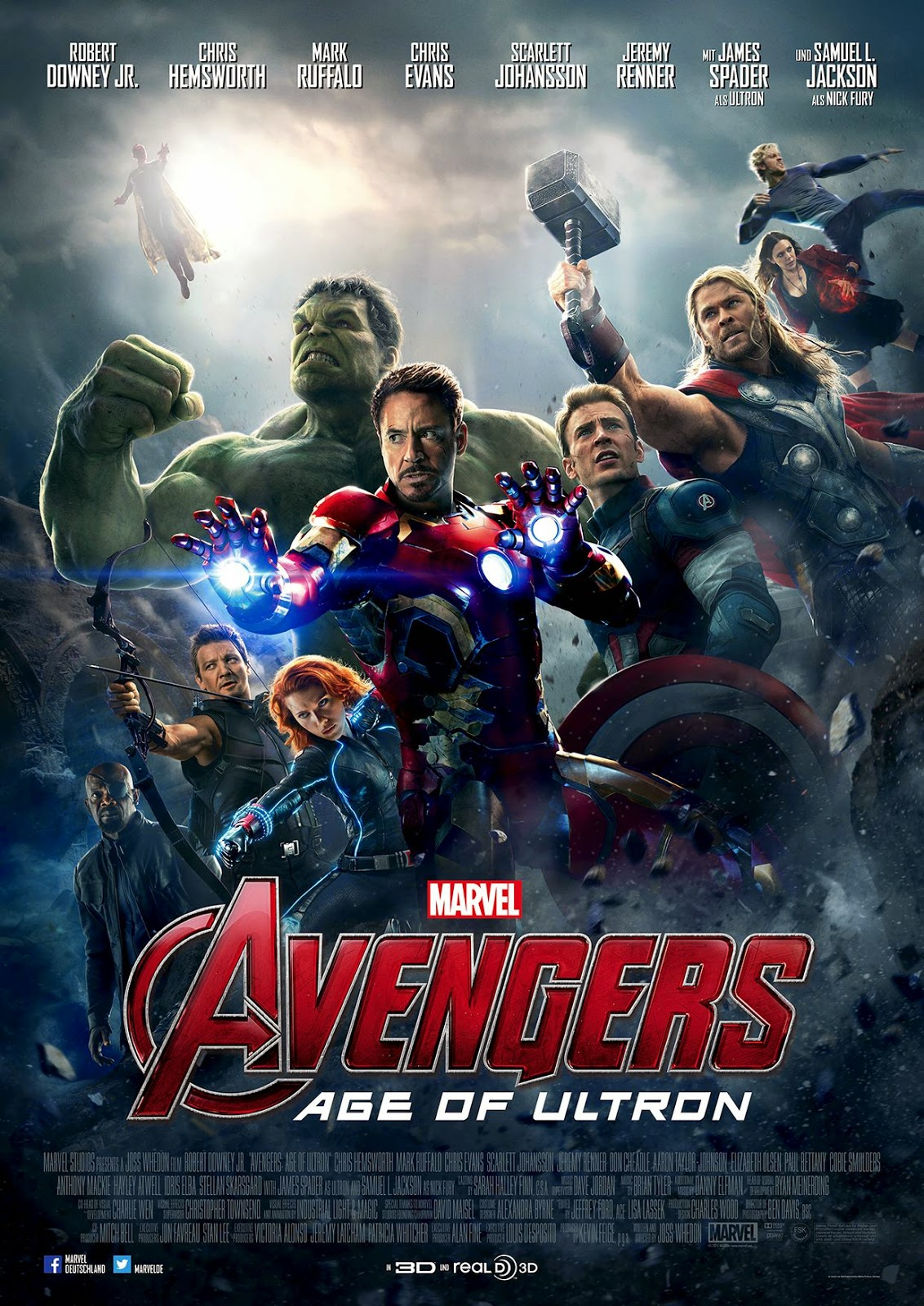 Tonton Avengers 2: Age of Ultron