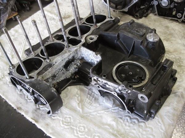 Z1000Mk2 エンジンオーバーホール