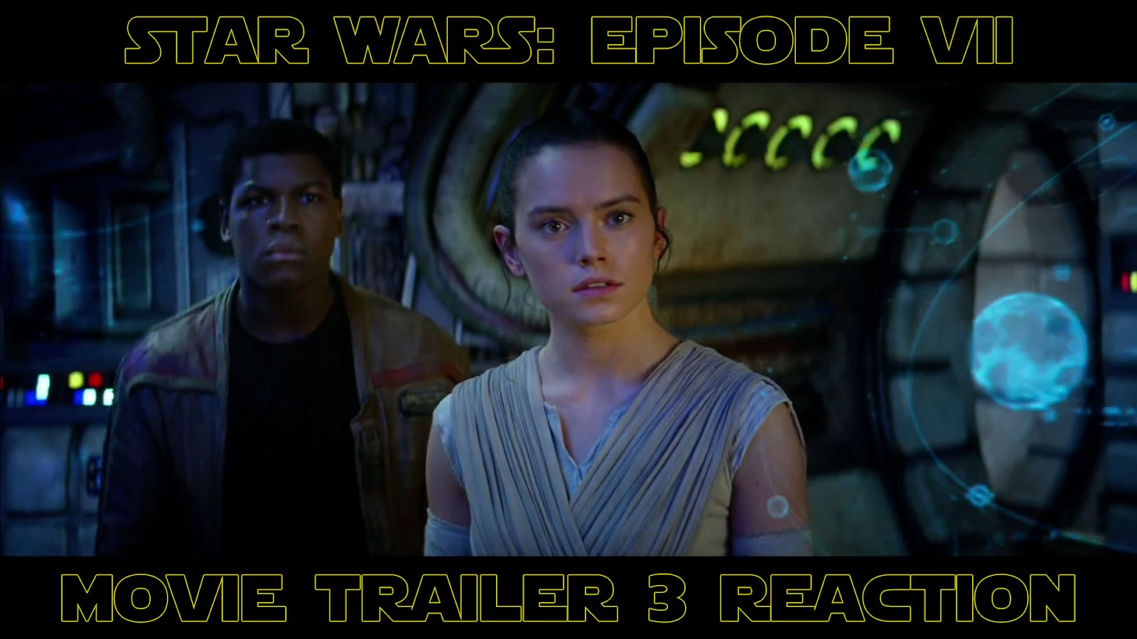 reaction to trailer for The Force Awakens Episode 7 Star Wars teaser #3