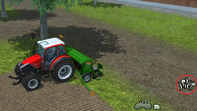 Sowing grass
