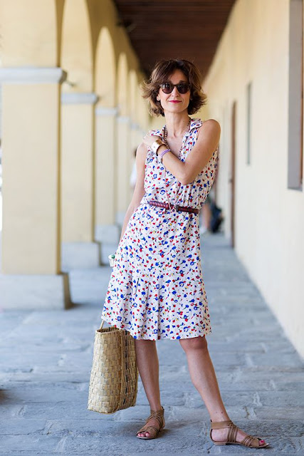 street style chic vintage dressing in italy