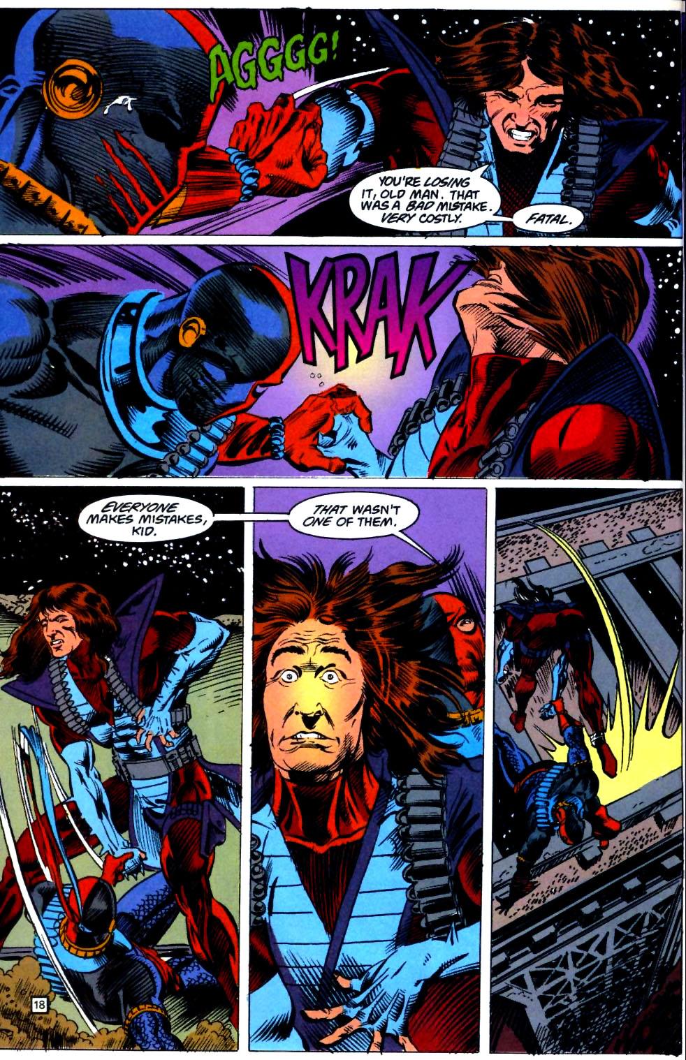 Deathstroke (1991) Issue #23 #28 - English 19