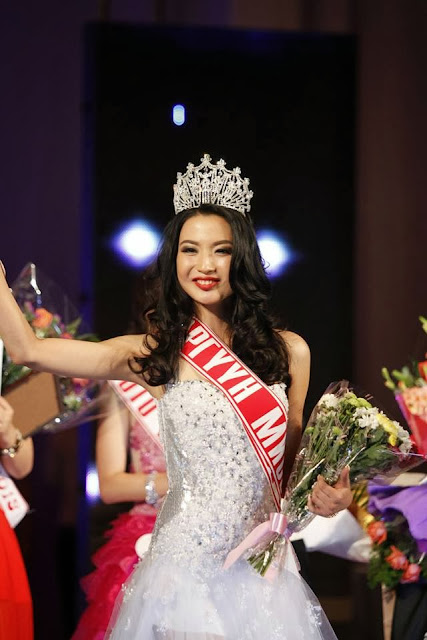 Miss Mongolia 2013 International Namshiryn Anu