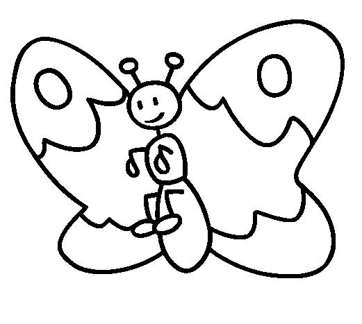 LINDAS BORBOLETAS PARA IMPRIMIR E COLORIR  - imagens para colorir borboleta