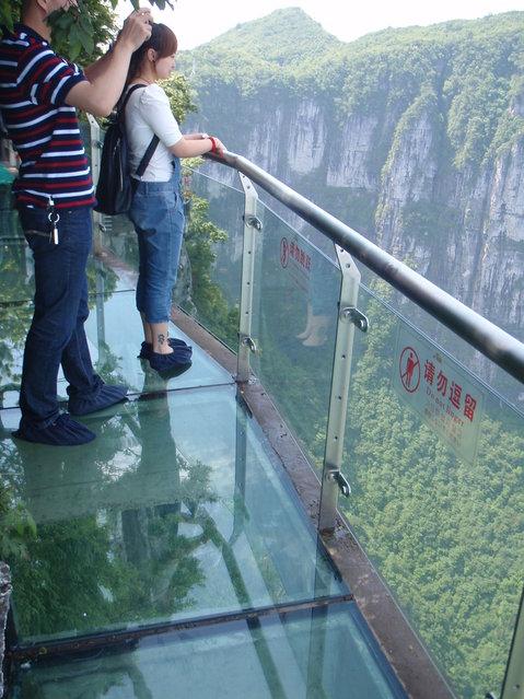Tianmen Mountain China.