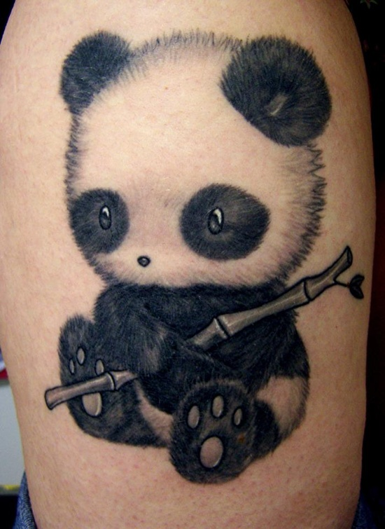 cute panda female tattoofemale tattoos gallery