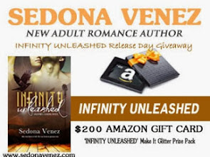Infinity Unleashed Release Day Giveaway!