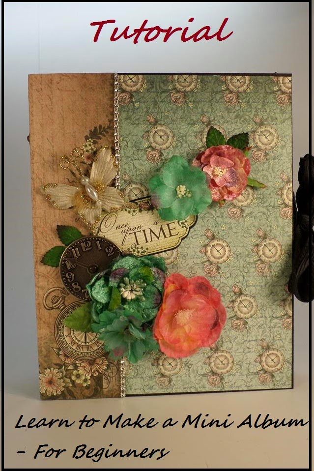 Designs by Shellie: FREE TUTORIAL - LEARN TO MAKE A MINI ALBUM FOR ...